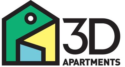 logo 3d apartments