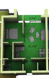 3d apartments suite double